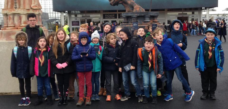 Harry Potter world with Belper District Cubs