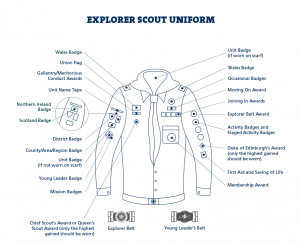 EXPLORER SCOUT UNIFORM