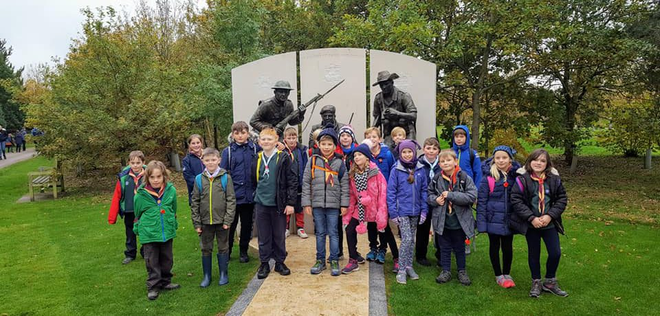 Cub visit to the National Memorial Arboretum